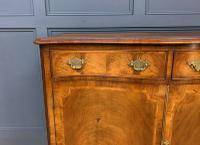 Serpentine Fronted Burr Walnut Side Cabinet c.1930 (4 of 13)