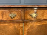Serpentine Fronted Burr Walnut Side Cabinet c.1930 (6 of 13)