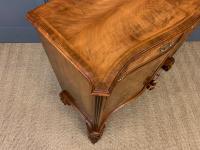 Serpentine Fronted Burr Walnut Side Cabinet c.1930 (11 of 13)