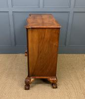 Serpentine Fronted Burr Walnut Side Cabinet c.1930 (13 of 13)