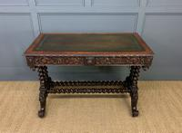19th Century Carved Oak Table