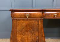 Large Burr Walnut Pedestal Sideboard (6 of 18)