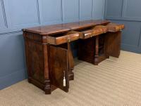 Large Burr Walnut Pedestal Sideboard (13 of 18)