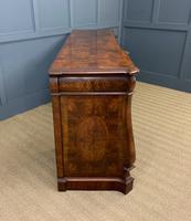 Large Burr Walnut Pedestal Sideboard (18 of 18)