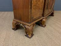 Waring & Gillow Burr Walnut Breakfront Bookcase (6 of 19)