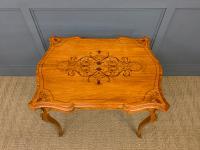 Inlaid Satinwood Table c.1895 (3 of 16)