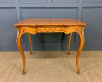 Inlaid Satinwood Table c.1895 (6 of 16)