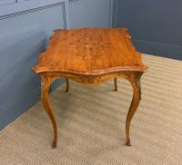Inlaid Satinwood Table c.1895 (11 of 16)