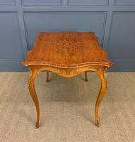 Inlaid Satinwood Table c.1895 (13 of 16)