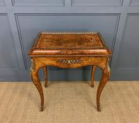 Victorian Inlaid Burr Walnut Jardiniere (2 of 17)