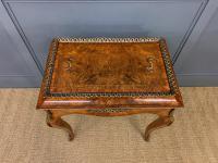 Victorian Inlaid Burr Walnut Jardiniere (17 of 17)