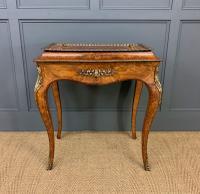 Victorian Inlaid Burr Walnut Jardiniere (3 of 17)