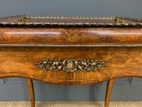 Victorian Inlaid Burr Walnut Jardiniere (4 of 17)