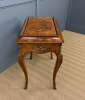 Victorian Inlaid Burr Walnut Jardiniere (5 of 17)