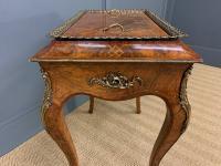 Victorian Inlaid Burr Walnut Jardiniere (6 of 17)
