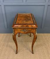 Victorian Inlaid Burr Walnut Jardiniere (9 of 17)