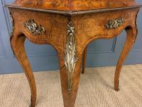 Victorian Inlaid Burr Walnut Jardiniere (10 of 17)