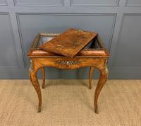 Victorian Inlaid Burr Walnut Jardiniere (13 of 17)