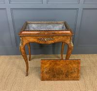 Victorian Inlaid Burr Walnut Jardiniere (14 of 17)