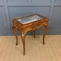 Victorian Inlaid Burr Walnut Jardiniere (15 of 17)