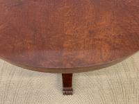 William IV Flame Mahogany Supper Table by Gillows (5 of 14)