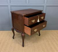 Carved Mahogany 2 Drawer Chest c.1900 (9 of 13)