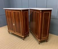 Superb Pair of Mahogany Cabinets by Rinck of Paris (18 of 18)