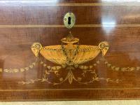Georgian Inlaid Mahogany Bureau Bookcase (5 of 29)