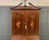 Georgian Inlaid Mahogany Bureau Bookcase (9 of 29)