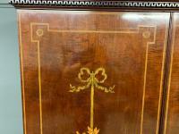 Georgian Inlaid Mahogany Bureau Bookcase (12 of 29)