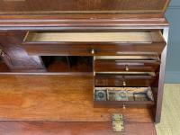 Georgian Inlaid Mahogany Bureau Bookcase (20 of 29)