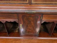 Georgian Inlaid Mahogany Bureau Bookcase (21 of 29)