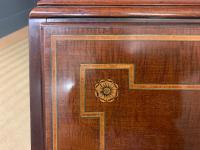 Georgian Inlaid Mahogany Bureau Bookcase (27 of 29)