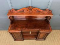 Early 19th Century Mahogany Chiffonier Bookcase (3 of 22)