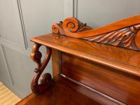 Early 19th Century Mahogany Chiffonier Bookcase (6 of 22)