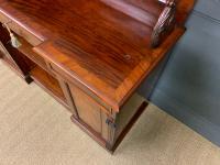 Early 19th Century Mahogany Chiffonier Bookcase (8 of 22)
