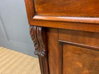Early 19th Century Mahogany Chiffonier Bookcase (10 of 22)