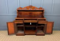 Early 19th Century Mahogany Chiffonier Bookcase (12 of 22)