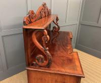 Early 19th Century Mahogany Chiffonier Bookcase (15 of 22)