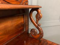 Early 19th Century Mahogany Chiffonier Bookcase (16 of 22)