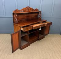 Early 19th Century Mahogany Chiffonier Bookcase (17 of 22)