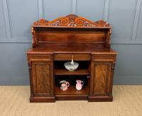 Early 19th Century Mahogany Chiffonier Bookcase (19 of 22)