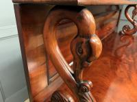 Early 19th Century Mahogany Chiffonier Bookcase (21 of 22)