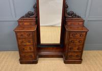 Victorian Mahogany Dressing Chest / Mirror (2 of 17)