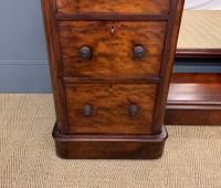 Victorian Mahogany Dressing Chest / Mirror (11 of 17)