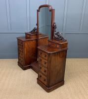 Victorian Mahogany Dressing Chest / Mirror (17 of 17)