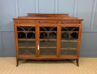 Inlaid Mahogany Bookcase by Maple & Co (2 of 21)