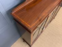 Inlaid Mahogany Bookcase by Maple & Co (7 of 21)