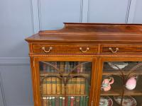Inlaid Mahogany Bookcase by Maple & Co (10 of 21)