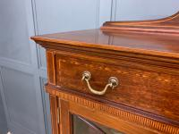 Inlaid Mahogany Bookcase by Maple & Co (12 of 21)